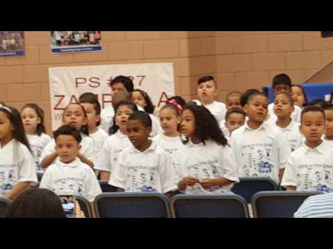 Cesar Chico let us grow @ PS27 Kindergarten Graduation
