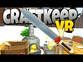 Craft Keep VR - My Little Blacksmith Shop in VR! - Let's Play CraftKeep Gameplay - HTC Vive VR