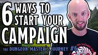 6 Killer Campaign Starters for Tabletop RPGs (DM's Journey)