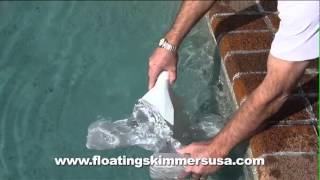 Installation Instructions for the Dragonfly Floating Pool Skimmer USA