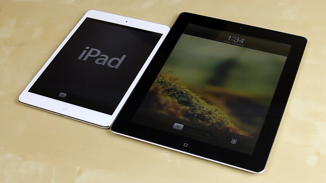 apple ipad mini vs ipad retina the new ipad 3rd. Black Bedroom Furniture Sets. Home Design Ideas