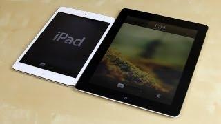 Apple iPad Mini vs iPad Retina (The New iPad) 3rd Generation