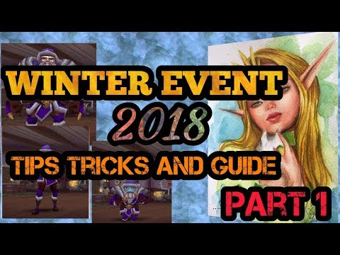 ARCANE LEGENDS: WINTER EVENT 2018 [TIPS TRICKS AND GUIDE PART 1]