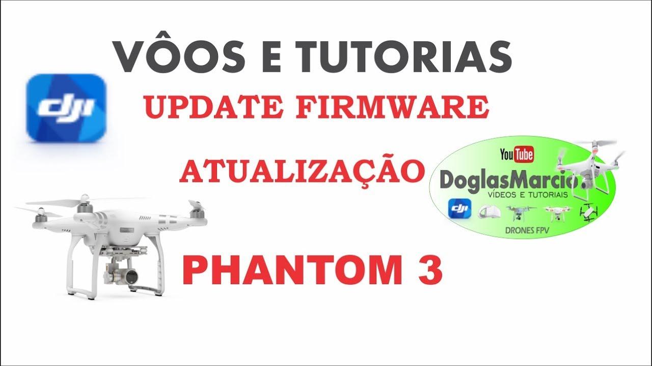 como atualizar firmware controle phantom 3