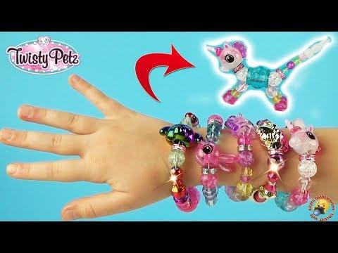 Браслет игрушка TWISTY PETZ How To Как сделать Питомца ТВИСТИ ПЕТС Spin Master