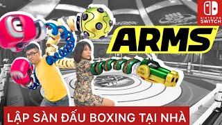 Lập sàn đấu Boxing tại nhà với game ARMS siêu hay trên Nintendo Switch | nShop - Kênh chuyên Game