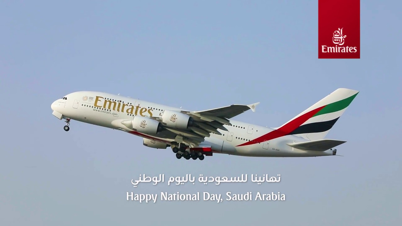 Emirates Celebrates Saudi National Day