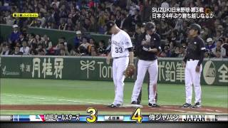 日米野球 第2戦 侍ジャパン 対 MLB highlight