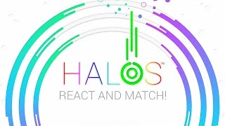 HALOS : React and Match Game The mesmerizing 'react and match' game...