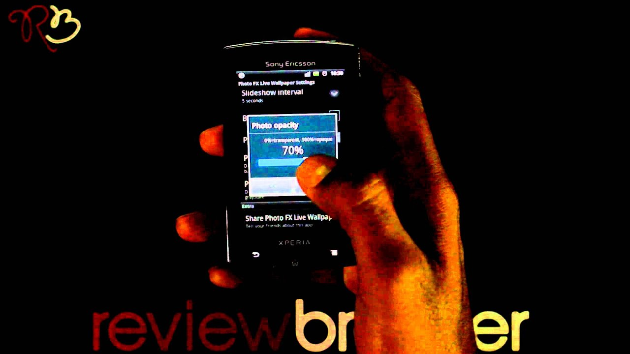 photo fx live wallpaper android app review by reviewbreaker
