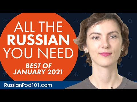 Your Monthly Dose of Russian - Best of January 2021