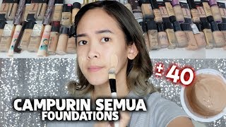 Mixing All My Foundations - Almiranti Fira