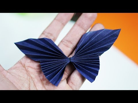 How To Make Paper Butterfly - Paper Butterfly Making Tutorial (VERY EASY)