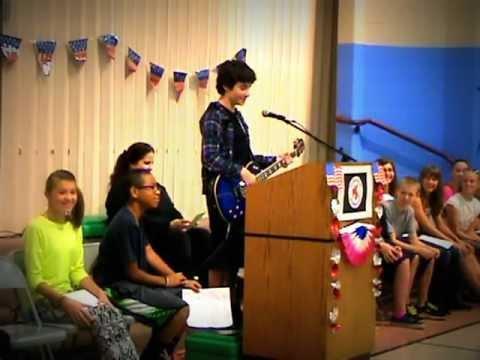 "Cory Meldrom Running for President of Totem Falls Elementary....""Rock style"""