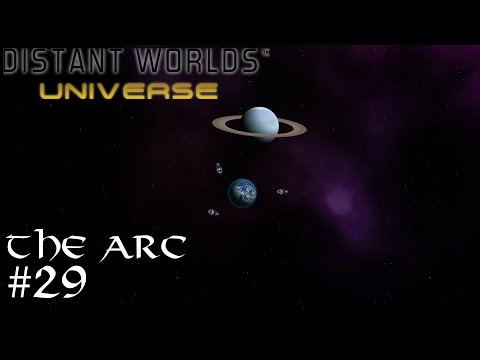 Let's Play Distant Worlds: Universe - The Arc #29 [Grand Hotels]