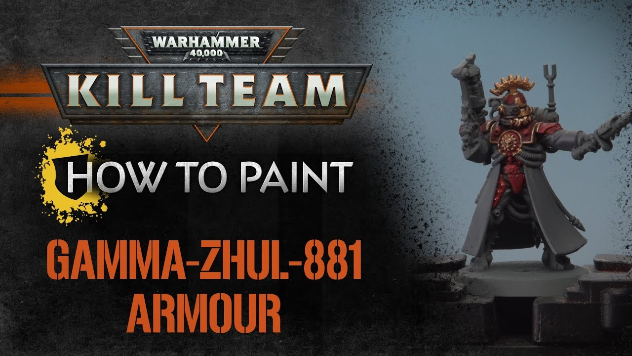 Caustic Soda Gamma How To Paint Kill Team Gamma Zhul 881 Armour