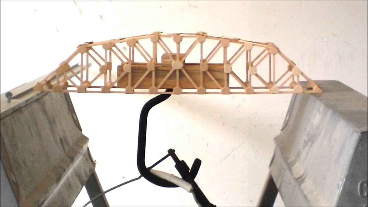 K Truss Load Test Youtube