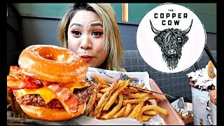 THE COPPER COW   DONUT BURGER   FOOD BLOG
