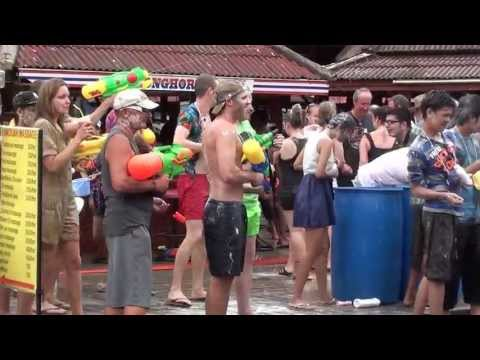 Koh Samui, Lamai - Songkran 2013 part-8/10