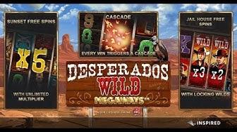 DESPERADOS WILD MEGAWAYS (INSPIRED) ONLINE SLOT