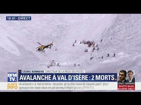 Avalanche à Val d'Isère: la piste où deux skieurs sont morts était fermée depuis jeudi
