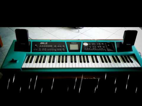 Sampling Dangdut Roland BK 5