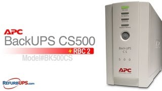 RBC2 Battery Replacement for APC BackUPS CS500