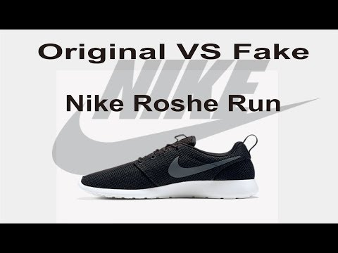 premium selection fafee 62ab4 Perbedaan Nike Roshe Run Original dan Fake - YouTube