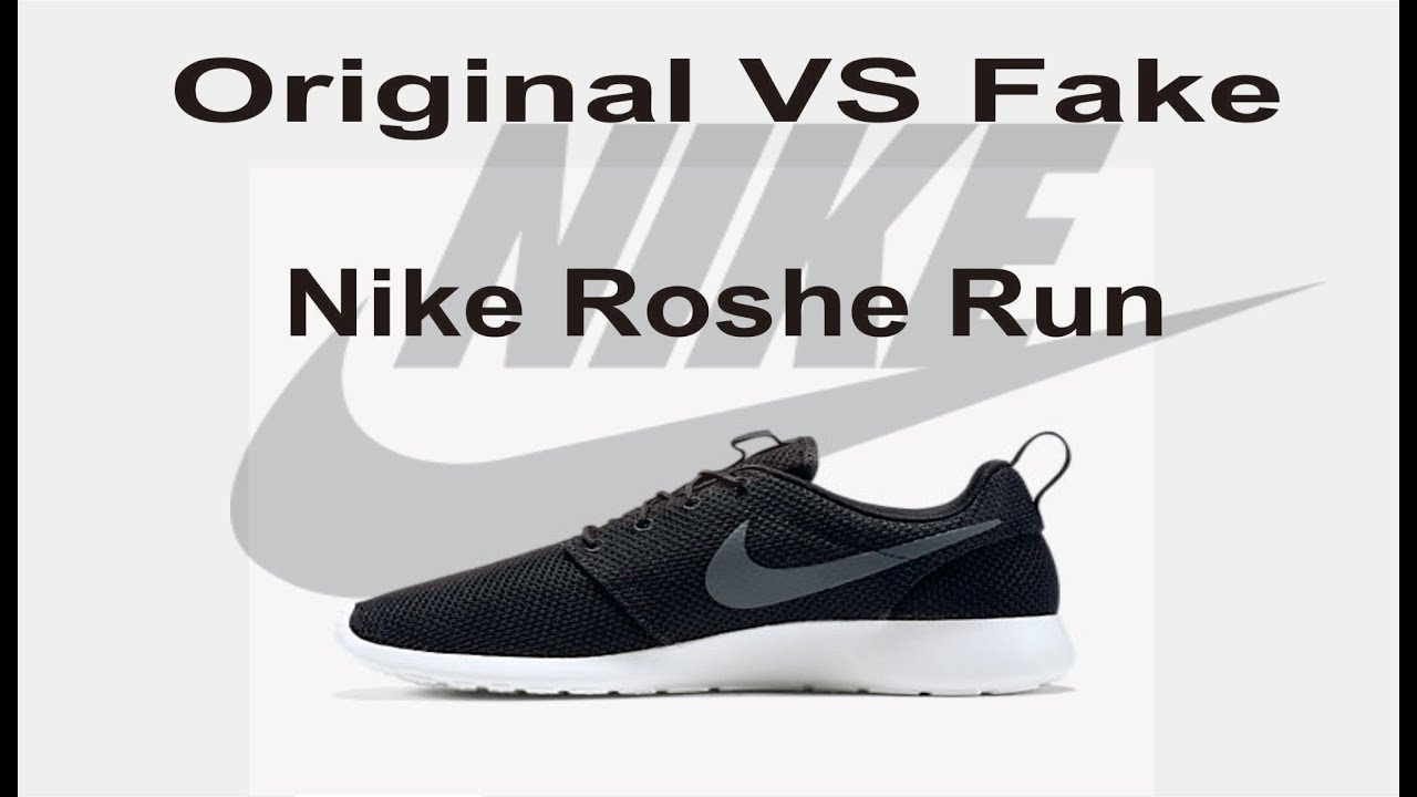Original Nike Roshe Dan Perbedaan Run Fake Youtube l13TFKJcu5