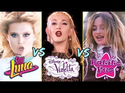 Soy Luna vs. Violetta vs. Patito Feo - Batalla de Canciones 🔥