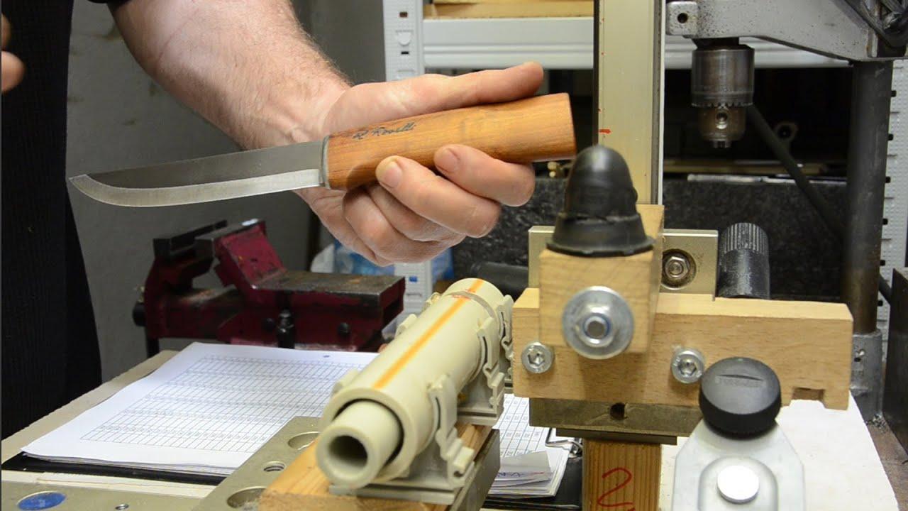 Download No 116 - Roselli Hunter R200L - UHC 64HRc, 50° - original sharpening