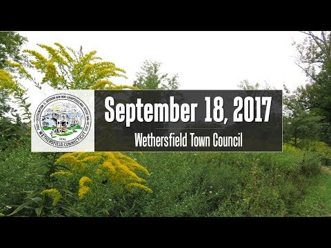 September 18th, 2017 Town Council