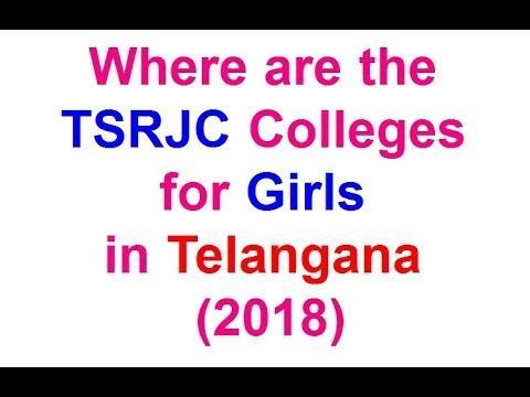 TSRJC Colleges list for Girls in Telangana   Girls Gurukul Institutions 2018