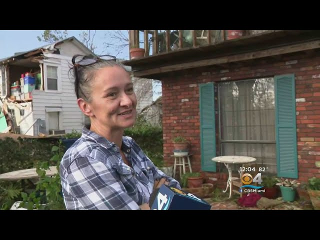 Panama City Residents Picking Up The Pieces After Hurricane Michael