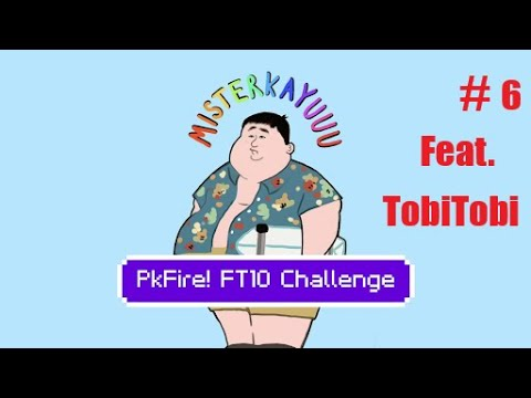 Download PkFire! FT10 IRONMAN CHALLENGE PART 6 feat. TobiTobi   Flash party