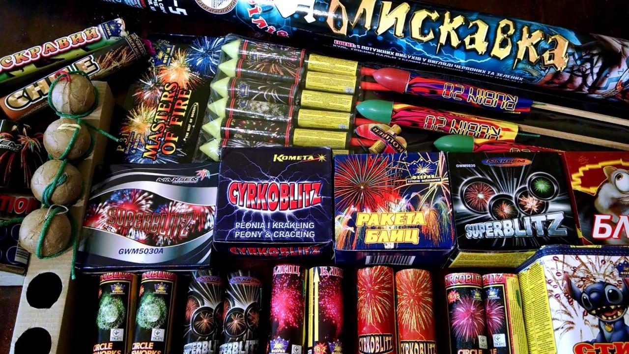 Взрываем новогодние Салюты и Фейерверки | Римская свеча Ракеты | Моя Пиротехника на Новый Год