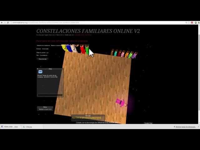 Instalación de Plataforma de Constelaciones Familiares Online
