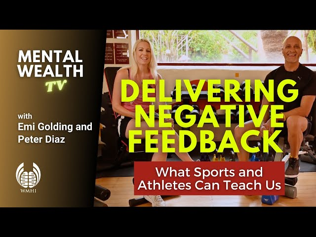 Sports Psychology, Mental Health and Delivering Feedback in the Workplace