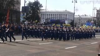 Parad på självständighetsdagen i Kiev 2014-08-24