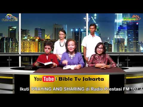 Bible Tv Jakarta: Rev. Dr. FRANCESCA KUSSOY - PRAYING AND SHARING - 30 04 2017