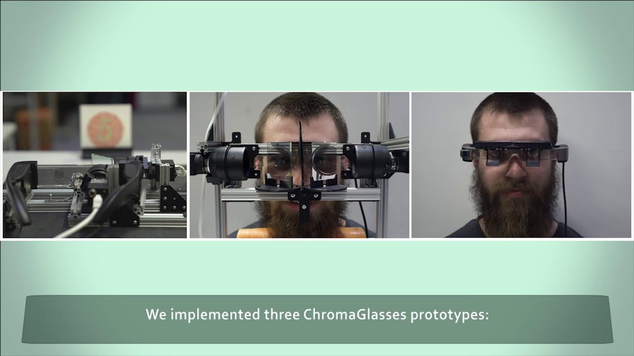 Очки дополненной реальности помогли дальтоникам различить цвета