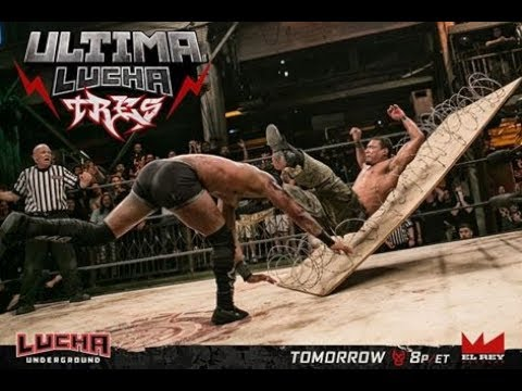 "Download ""M2H"" Lucha Underground Ultima Lucha Tres 2017 part 1 Highlights"