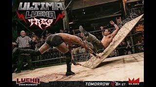 """M2H"" Lucha Underground Ultima Lucha Tres 2017 part 1 Highlights"