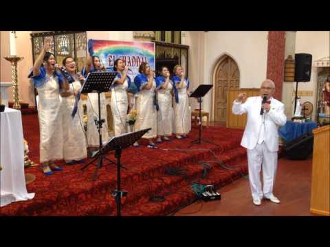 El Shaddai Newcastle Chapter UK 10th Thanks Giving  with Bro. Fred Hernandez