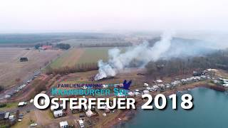 Osterfeuer 2018 auf dem Familien-Camping Kransburger See