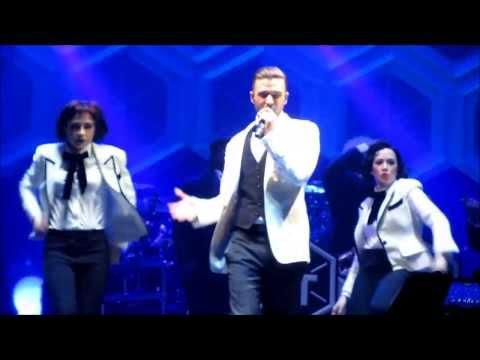 Justin Timberlake - Like I Love You ( 20/20 Experience Tour 12-19-13 Orlando, FL )