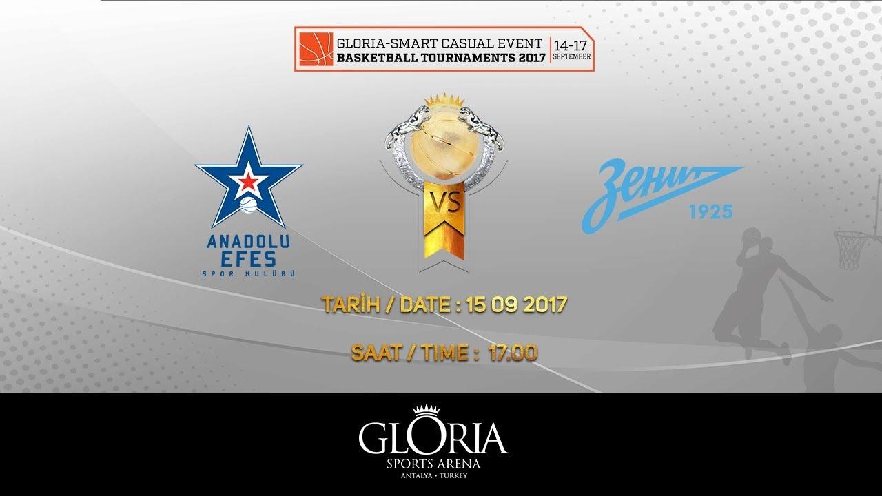 EuroLeague | Anadolu Efes vs Zenit | Ronda 1
