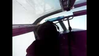Полет и выполнение фигур пилотажа на ЯК-18