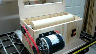 V-drum Sander Build - Part 2