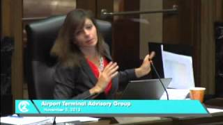 KCI Airport Terminal Advisory Group Meeting - Nov. 5, 2013